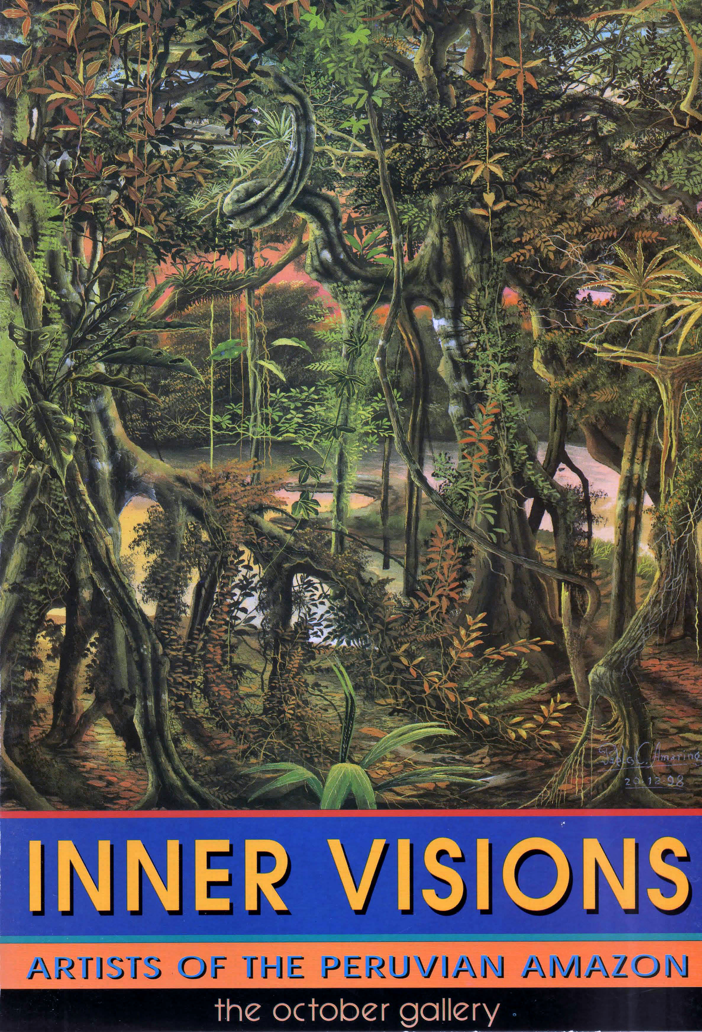 Inner Visions: Artists of the Peruvian Amazon - London 1999