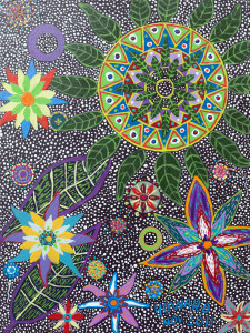 Ayahuasca Inspired Art - Howard G Charing - March 2013
